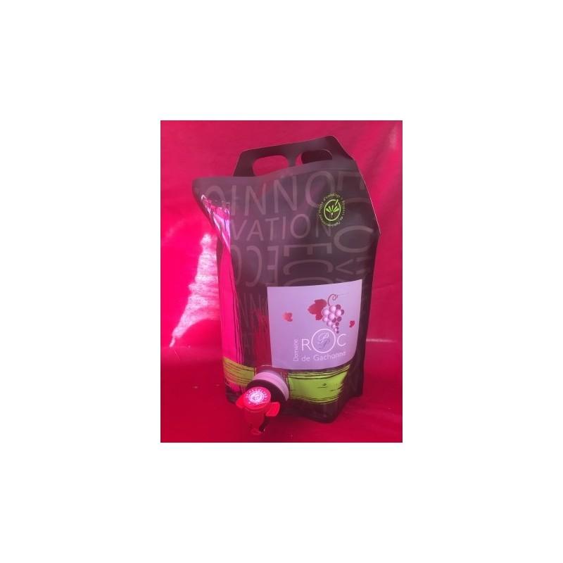 BAG IN BOX 5L - VIN ROUGE ROC DE GACHONNE
