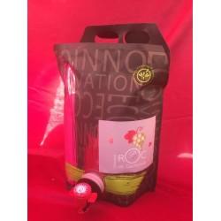 BAG IN BOX 3L - VIN ROSE ROC DE GACHONNE